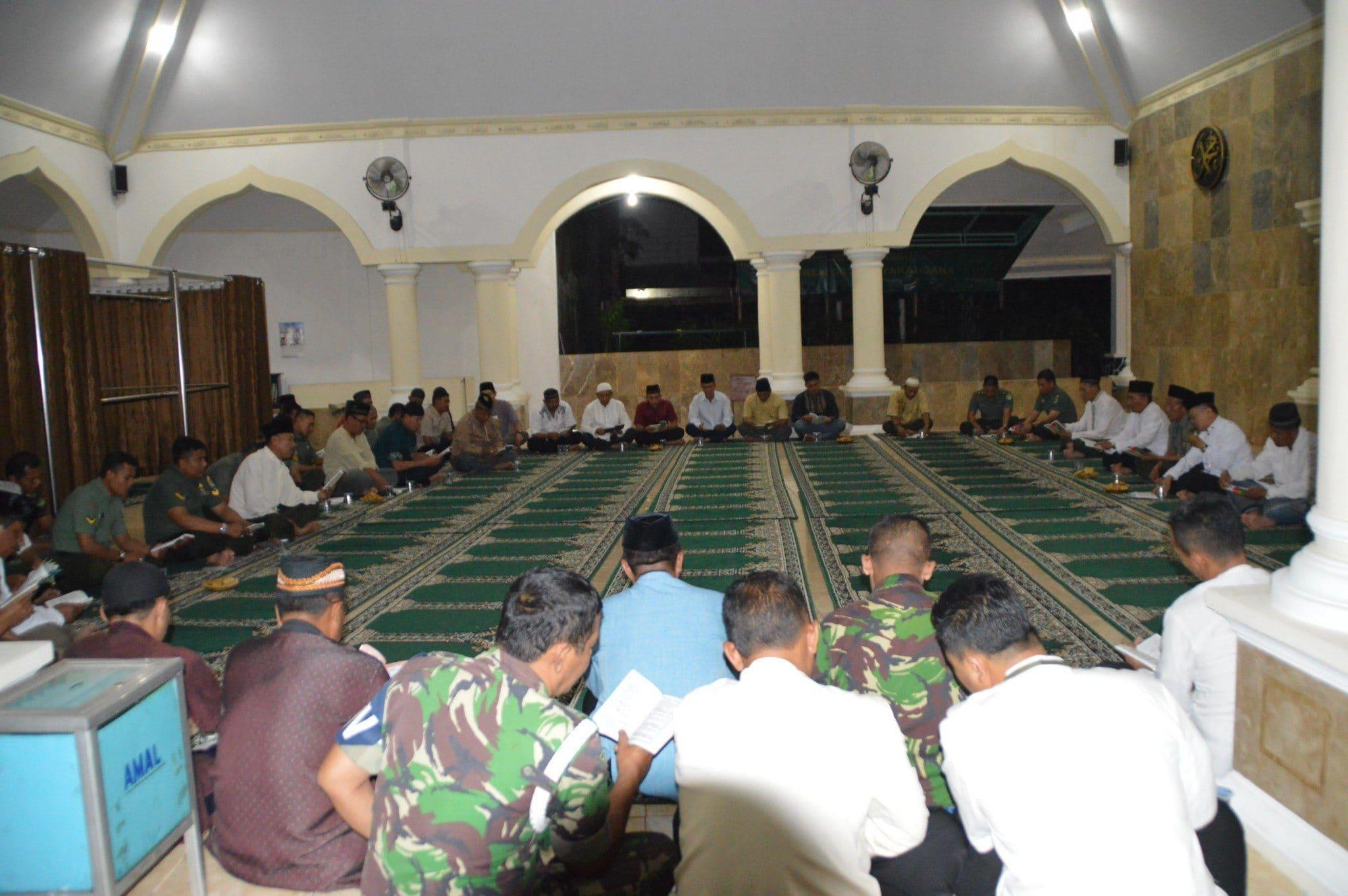 Korem 061 /Sk Selenggarakan Do'a Bersama Di Makorem Suryakancana