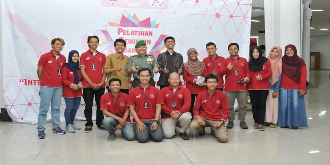 Badan Eksekutif Mahasiswa Se Indonesia Mengadakan Latihan Di Akmil