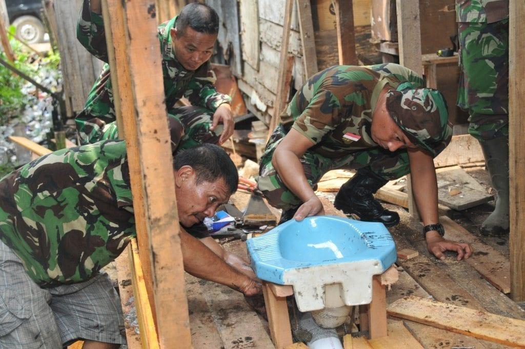 Pendam XII/Tpr Dukung Program Pemerintah Indonesia Sehat