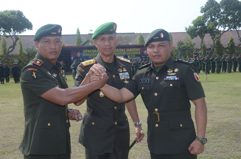 Letnan Kolonel Inf Sutrisno Pujiono Menjabat Danyon 500/Raider