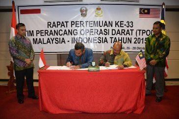 Penandatanganan Naskah TPOD Malindo