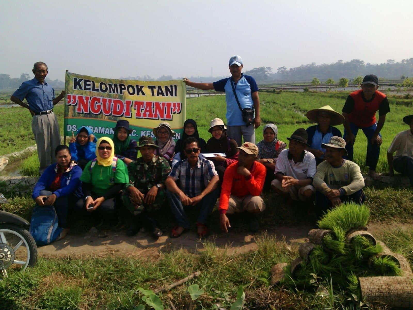 Babinsa Kodim Blitar Berikan Pelatihan ke Para Petani