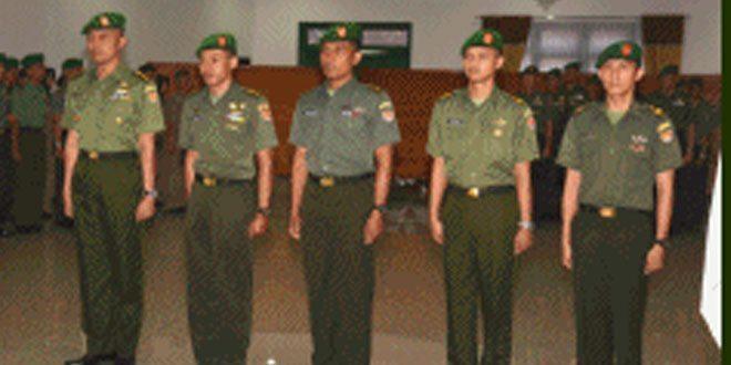 Wagub Akmil Menerima Laporan Korps Kenaikan Pangkat
