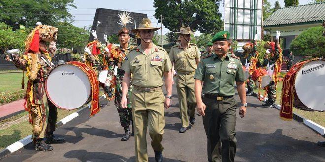 Akmil Di Kunjungi Panglima Angkatan Darat Australia