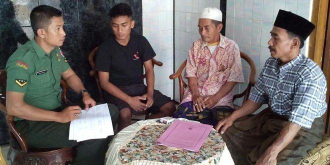 Danramil Bangkalan, Giatkan Anggota Untuk Bedah Rumah Veteran RI