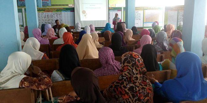 Program Parenting Penguatan PAUD berbasis keluarga, di TMMD ke-95 Bojonegoro