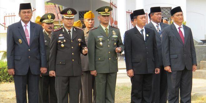 Upacara Kesaktian Pancasila Di Alun-Alun Kabupaten Brebes