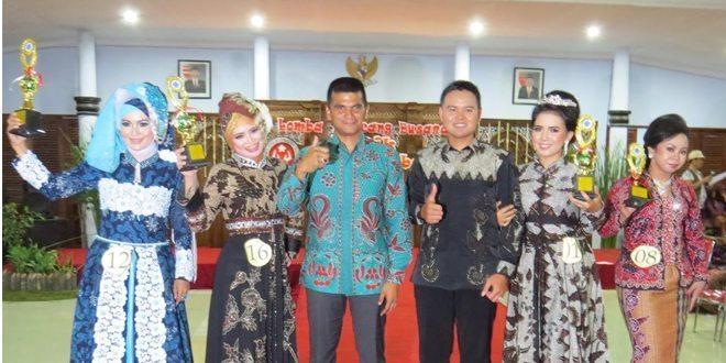 Lomba Rancang Busana Batik Brebesan Tahun 2015 Kabupaten Brebes