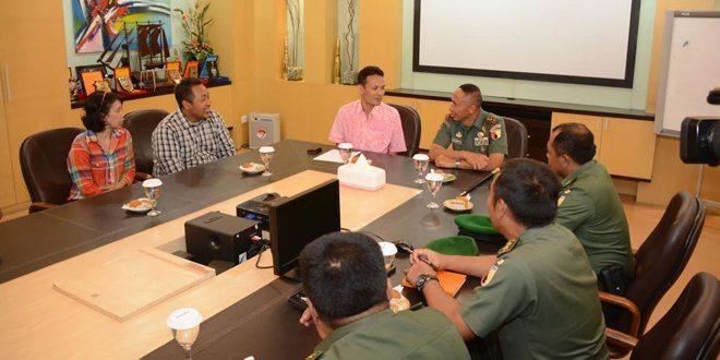 Pangdam V/Brawijaya Mengunjungi Redaksi Jawa Pos