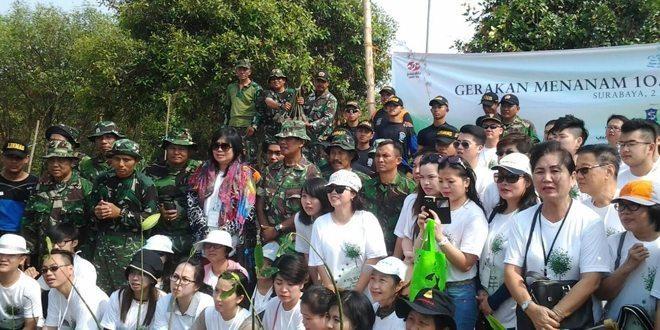 Gerakan Peduli Sekitar Kita, Kodim 0831/Surabaya Timur Gandeng Perkumpulan Umat Budha Se-Indonesia