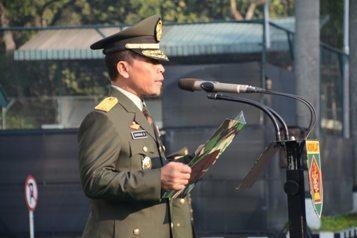 Dirlat Kodiklat TNI AD Pimpin Peringatan Hari Kesaktian Pancasila