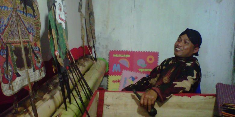 Wayang Loreng, Milik Ki Dalang Pelda Sugiarto