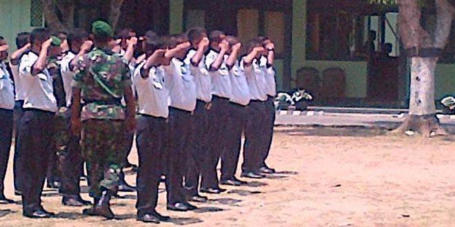 Tanamkan Kedisiplinan, Kodim Bangkalan Gelar Pelatihan Security Angkatan I