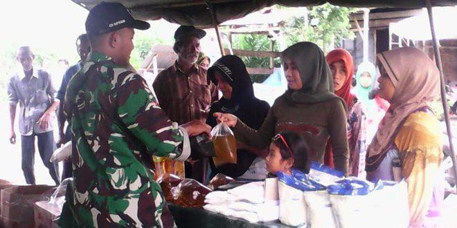 Kodim 0105/Aceh Barat Gelar Bazar