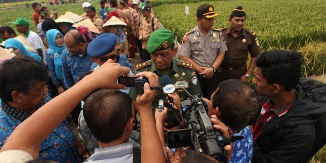 Pangdam IM : TNI Ikut Sukseskan Program Ketahanan Pangan