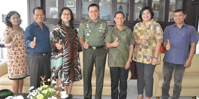 Pangdam I/BB Terima Audiensi Yayasan Jamin Ginting