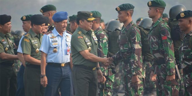 Prajurit Divif 1 Kostrad Kembali Diberangkatkan Padamkan Kebakaran Hutan Di Provinsi Riau