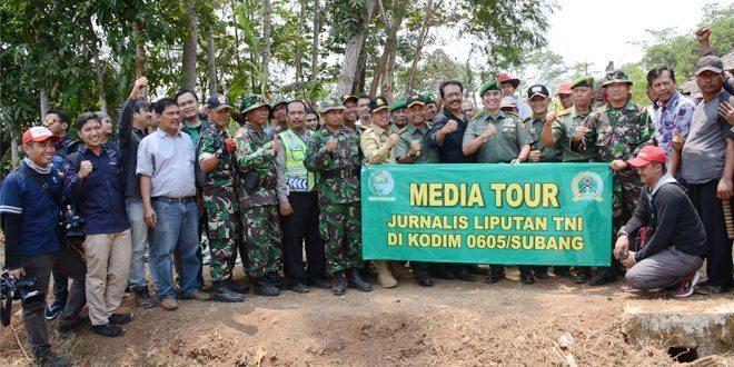 Press Tour Dispenad Dan Awak Media Massa