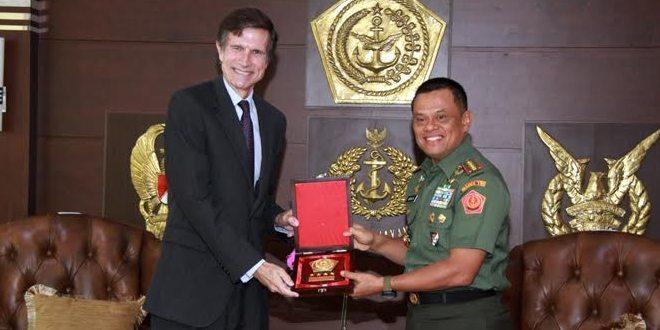 Panglima TNI Terima Duta Besar Amerika Serikat