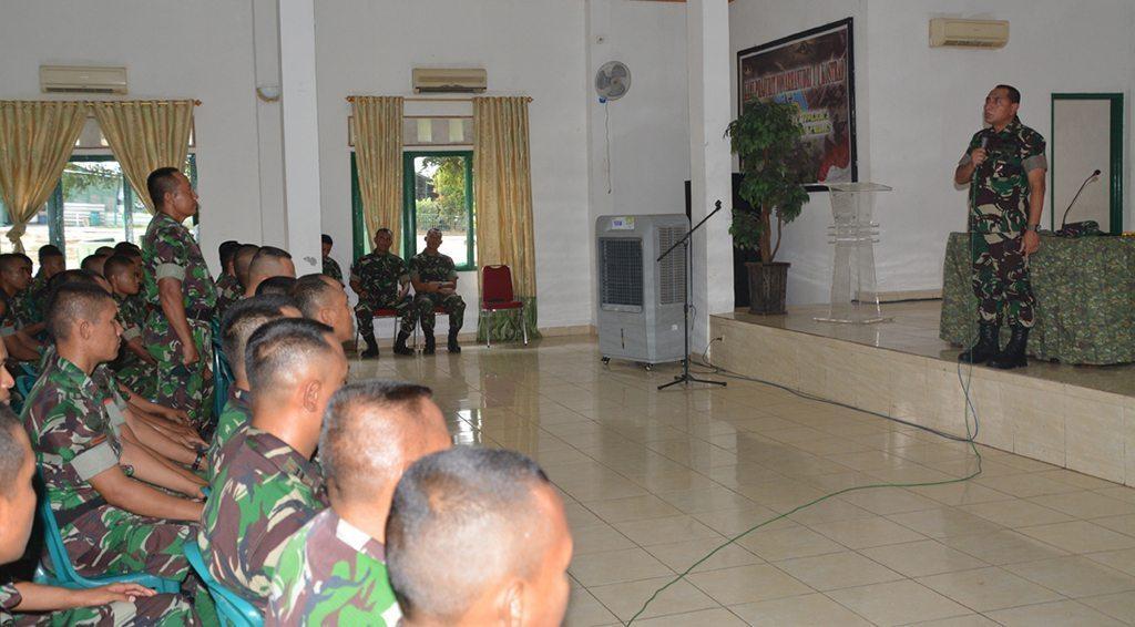 Pangkostrad Kunjungi Batalyon Arhanudri 1 Kostrad