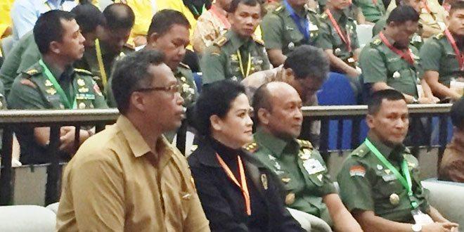 Pangdam Jaya Hadiri Seminar Nasional Pembinaan Teritorial di Kampus Universitas Indonesia