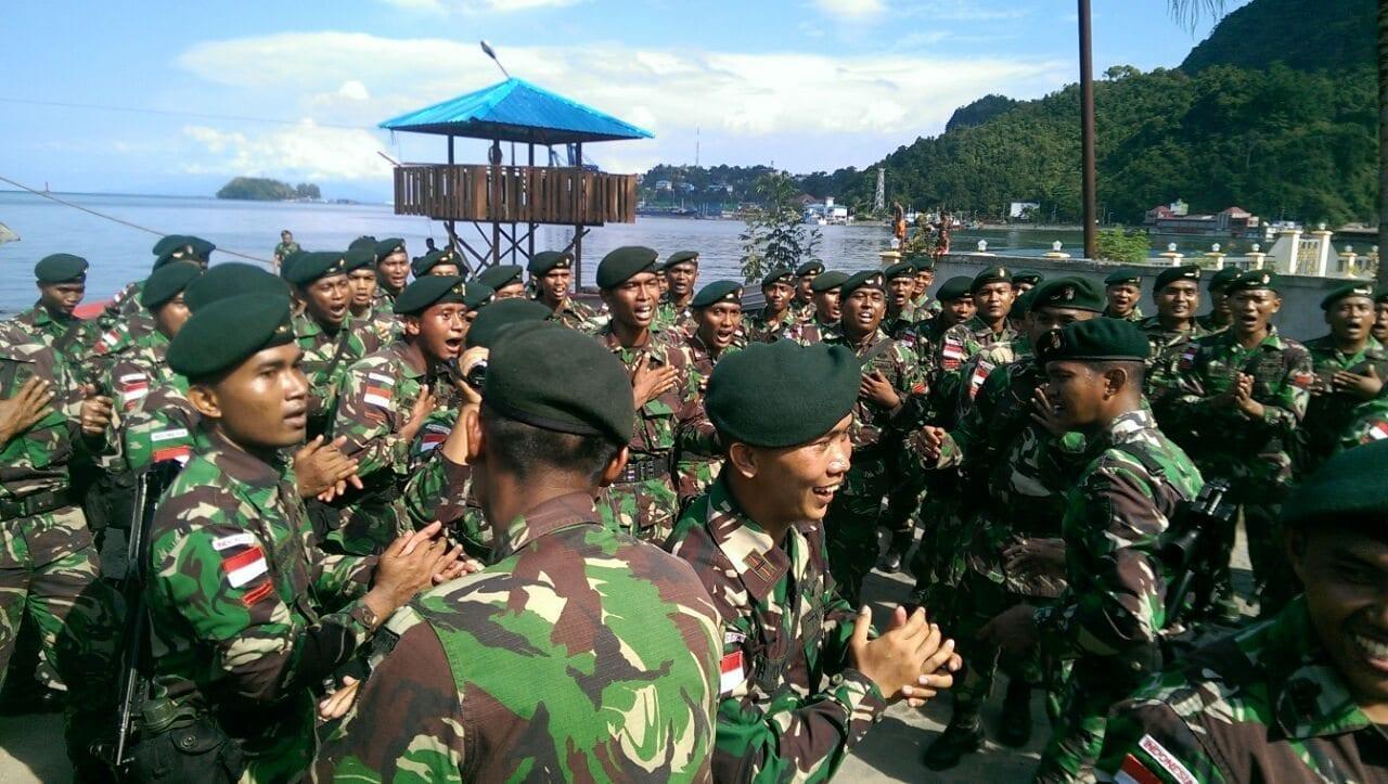 Pangdam XVII/Cenderawasih : Yonif 400/Raider Berhasil Menjaga Keamanan Perbatasan RI-PNG