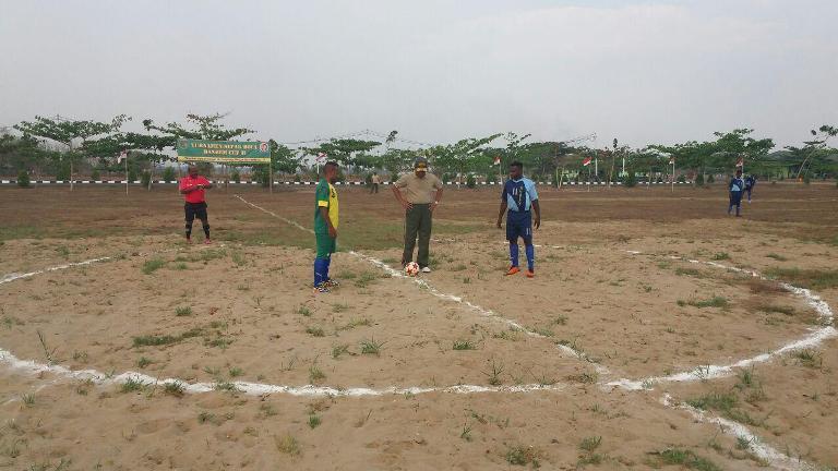 Korem 174/ATW Gelar Turnamen Sepak Bola Danrem Cup. II