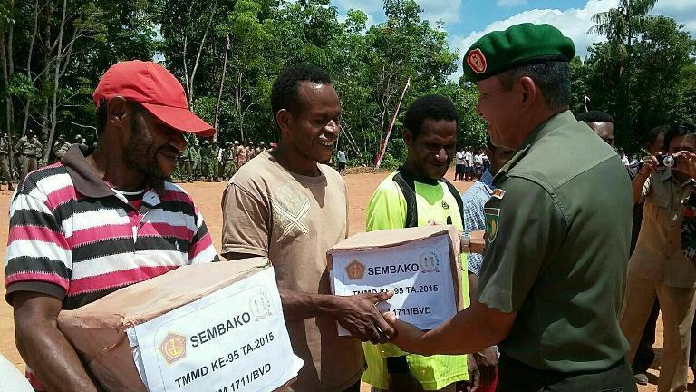 Wujudkan Ketahanan Masyarakat Yang Tangguh Dalam Menghadapi Berbagai Bentuk Ancaman di Wilayah Bovendigoel