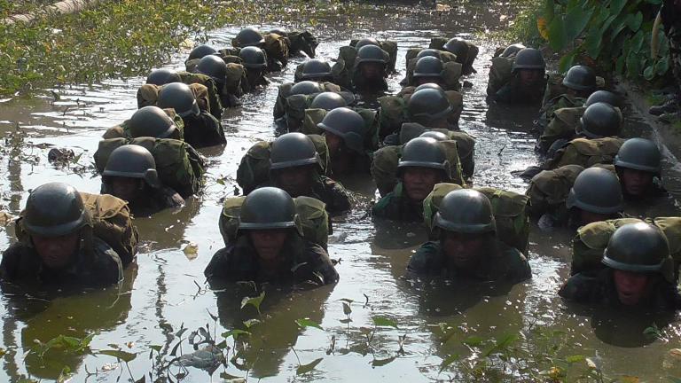 Batalyon Infanteri 752/VYS Melaksanakan Tradisi Satuan