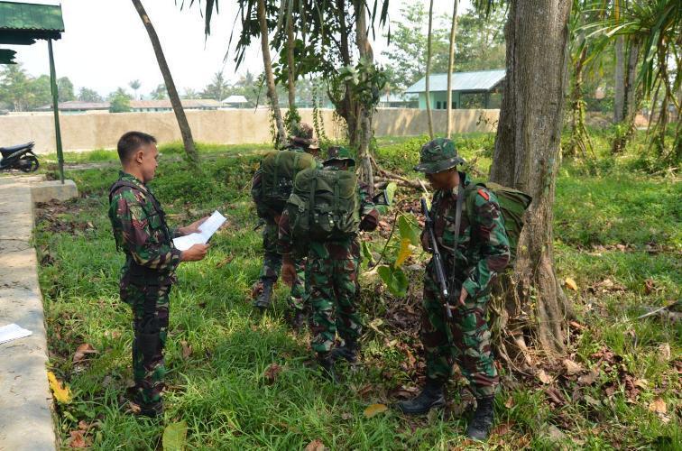 Batalyon Infanteri 752/VYS Melaksanakan UTP Umum T.A 2015