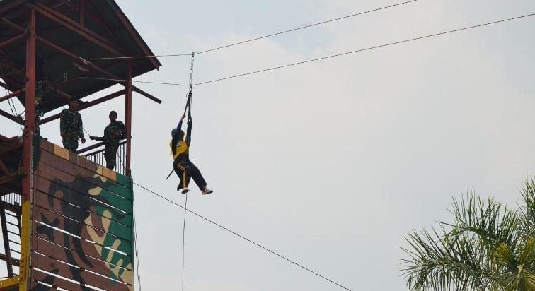 KPP Pratama Sorong Melaksanakn Kegiatan Outbound di Yonif 752/Vys