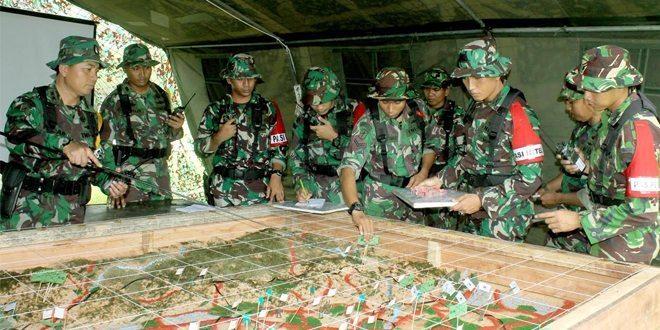 Batalyon Infanteri Raider 112/Dharma Jaya Gelar Gladi Posko I