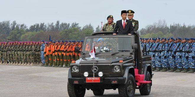 Peringatan HUT TNI ke 70 tahun 2015