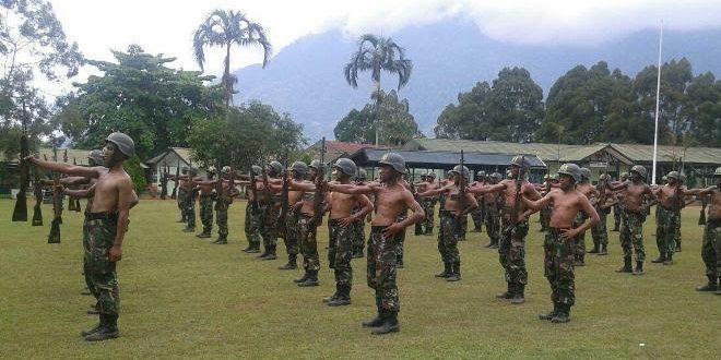 Prasis Dikmaba Tahap I TA 2015 Latihan Materi Senam Senapan