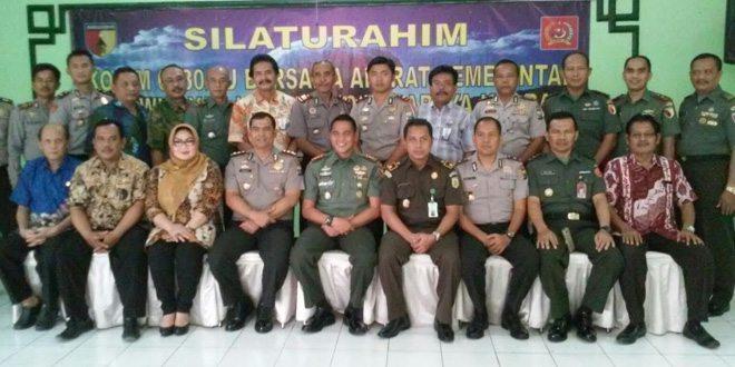 Kodim 0830/SU Gelar Silaturahmi Bersama Aparat Pemerintah