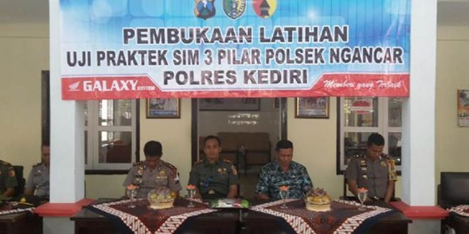 Kegiatan Sinergitas 3 Pilar di Kecamatan Ngancar Kodim 0809/Kediri