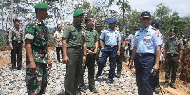 Pembukaan TMMD di Wilayah Korem 081/DSJ