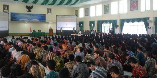 882 Mahasiswa Baru Untan Dalami Bela Negara Di Makodam XII/Tpr