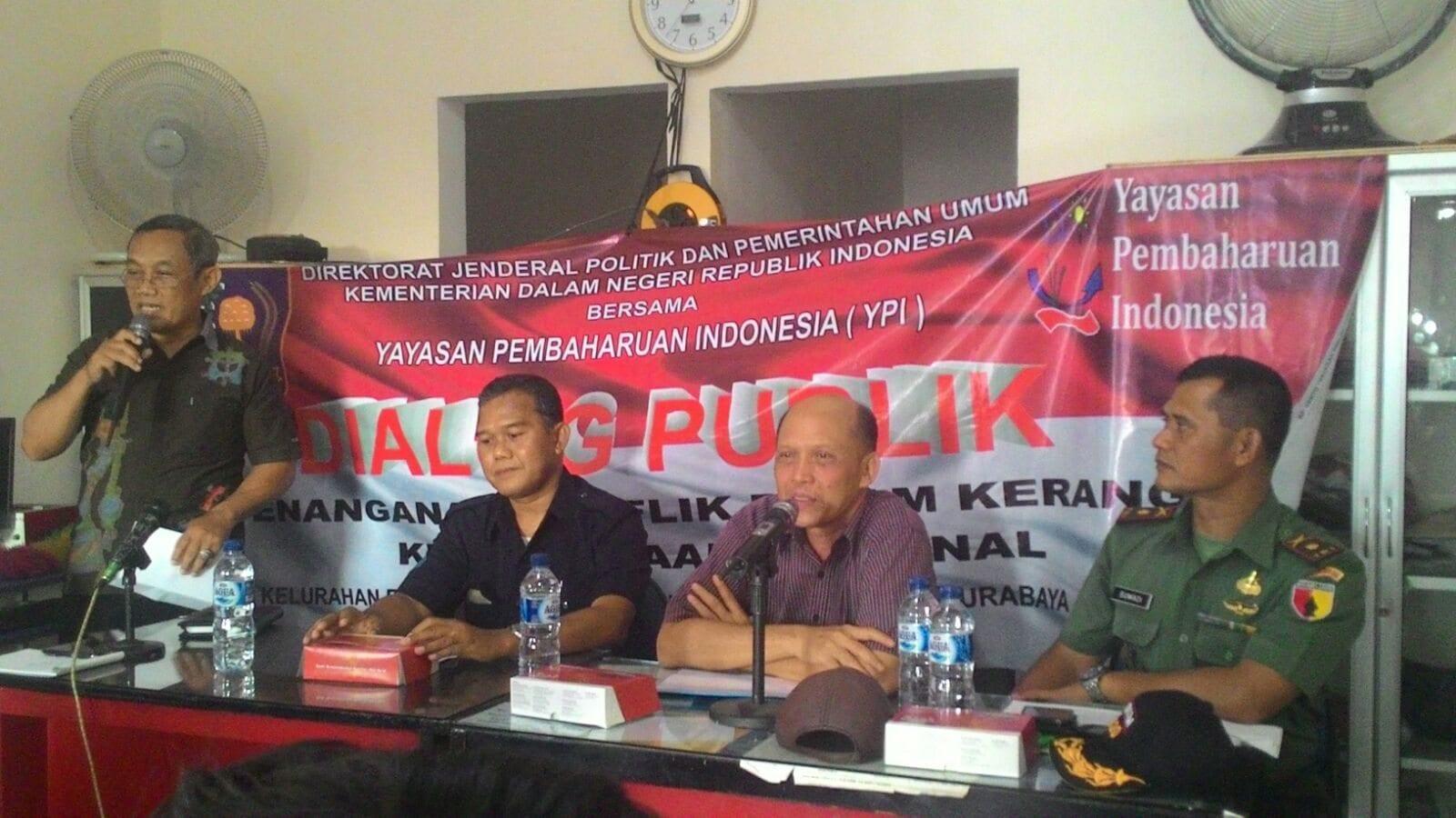 Koramil dan Muspika Pabean Cantain, Buka Dialog Publik Untuk Warga