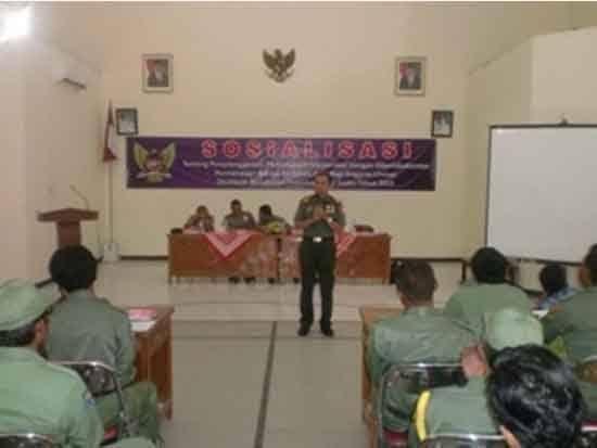 Linmas Memiliki Peran Penting Sebagai Mitra TNI Dan POLRI Dalam Setiap Pengamanan