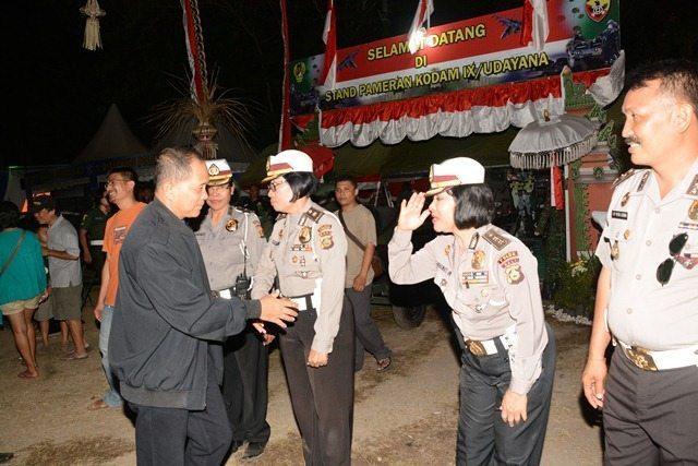 Kodam IX/Udayana Pamerkan Alutsista dalam Jambore Otomotif Bali ke-II Tahun 2015