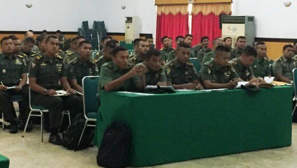 Asops Kasdam Jaya Pimpin Rapat Evaluasi Program Kerja Bidang Operasi Kodam Jaya