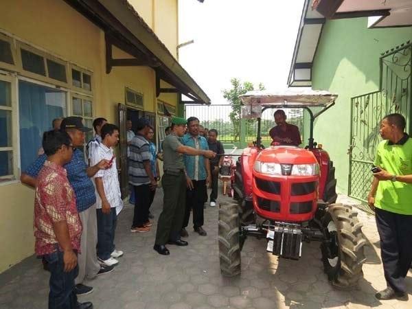 Hari Libur, Kodim 0809/Kediri Tetap Menunjukkan Eksistensinya Mendorong Upaya Pemerintah Mewujudkan Swasembada Pangan