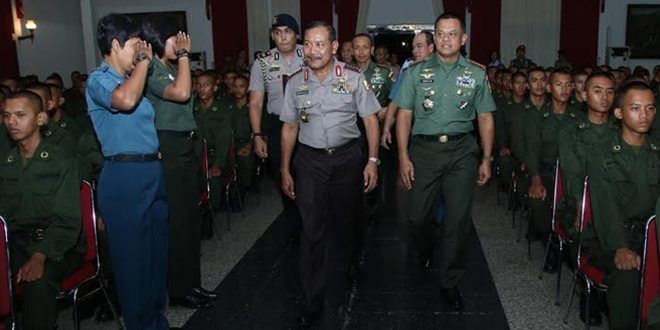 800 Taruna TNI dan Polri Pendidikan Bersama di Akmil Magelang