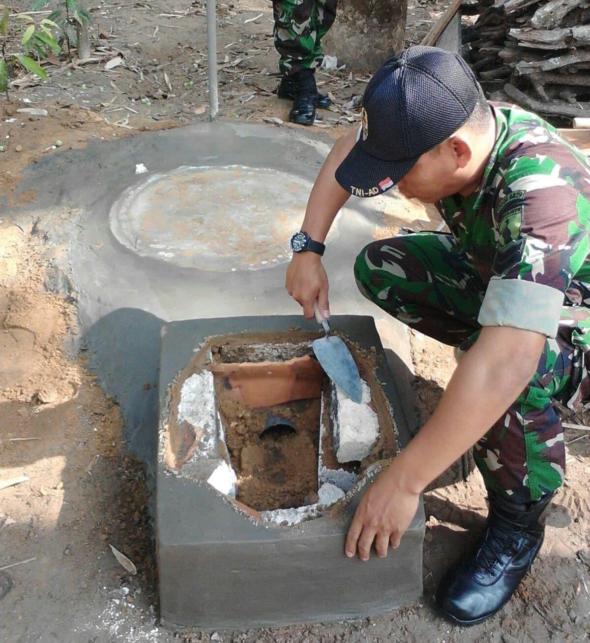 Kodim Bangkalan Lanjutkan Program Jambanisasi di 18 Kecamatan