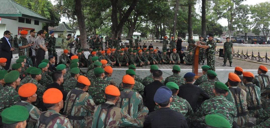 Latihan Gabungan TNI-Polri Dalam Rangka Penanggulangan Terorisme