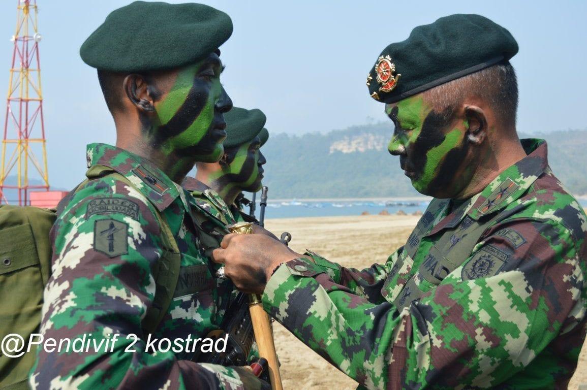Latihan Raider Yonif 515/Ugra Tapha Yudha Kostrad Resmi Ditutup