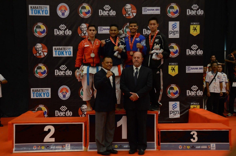 Atlet Karate Indonesia Raih Medali Emas