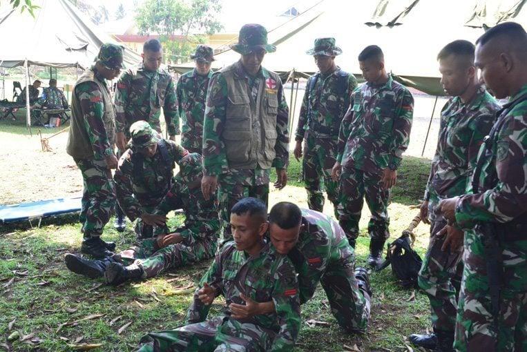 Korem 152/BBL Gelar Latihan Penanggulangan Bencana Alam II
