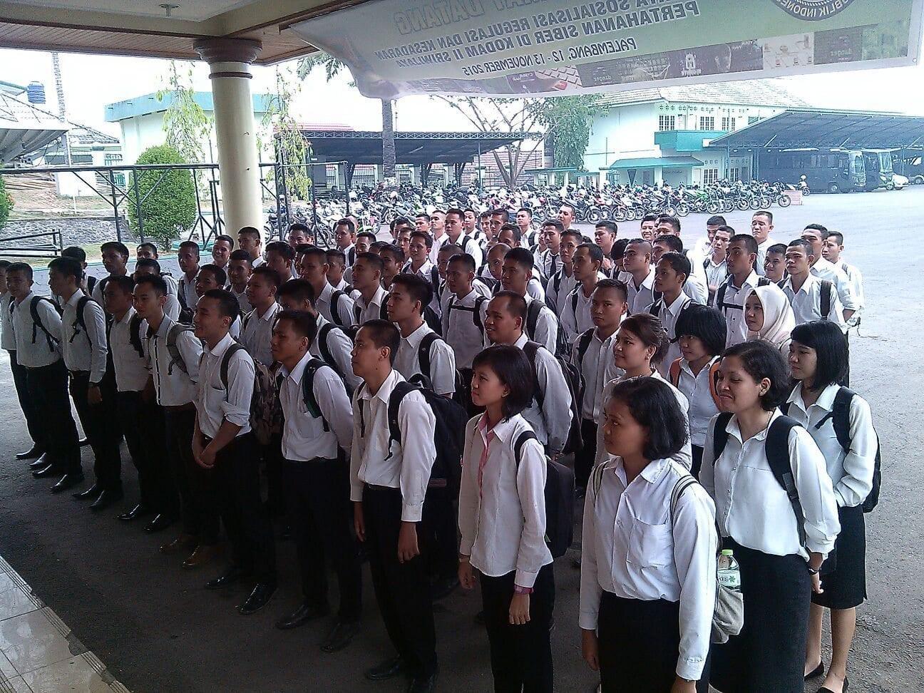 86 Sarjana Ikut Seleksi Calon Perwira TNI